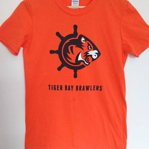 Orange Logo Tshirt